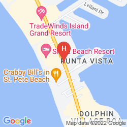Mappa GRAND PLAZA BEACHFRONT