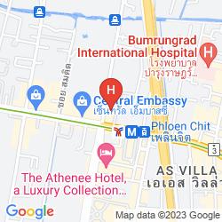 Mappa SIVATEL BANGKOK