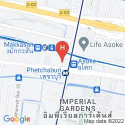 Mappa FX HOTEL METROLINK MAKKASAN