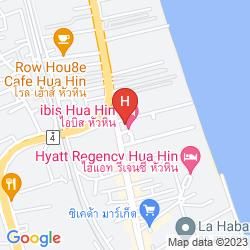 Mappa IBIS HUA HIN