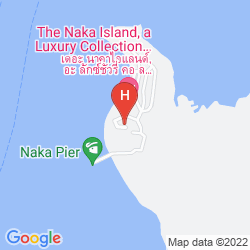 Mappa THE NAKA ISLAND, A LUXURY COLLECTION RESORT & SPA
