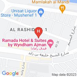 Mappa CROWN PALACE HOTEL