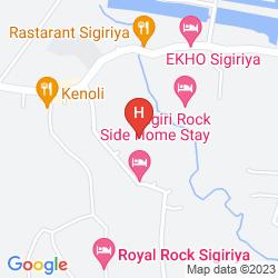 Mappa SIGIRIYA VILLAGE