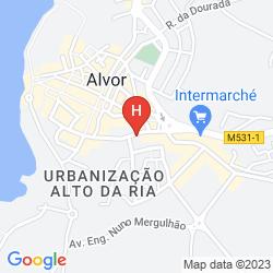 Mappa ALVORMAR - APARTAMENTOS TURÍSTICOS
