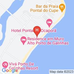 Mappa TABAPITANGA POUSADA