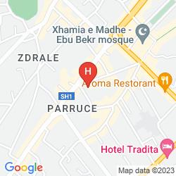Mappa GRAND HOTEL EUROPA