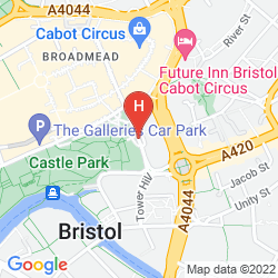 Mappa MERCURE BRISTOL GRAND