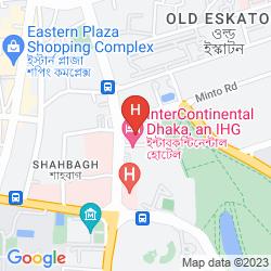 Mappa DHAKA INTERCONTINENTAL HOTEL