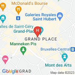 Mappa ROCCO FORTE HOTEL AMIGO