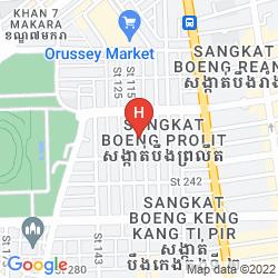 Mappa DARA AIRPORT HOTEL