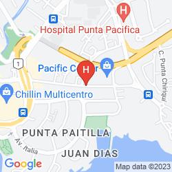 Mappa PANAMA LUXURY APARTMENTS