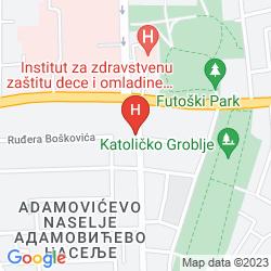 Mappa CAR ROYAL APARTMANS