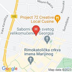 Mappa ACCOMMODATION VELIKI