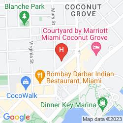 Mappa RESIDENCE INN MIAMI COCONUT GROVE