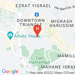 Mappa JERUSALEM TOWER