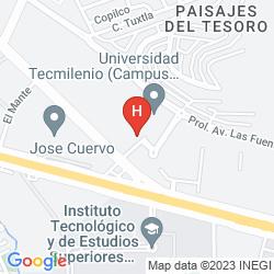 Mappa HOLIDAY INN EXPRESS GUADALAJARA ITESO