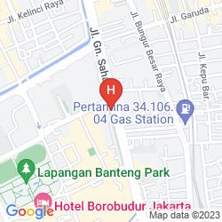 Mappa ALPINE HOTEL