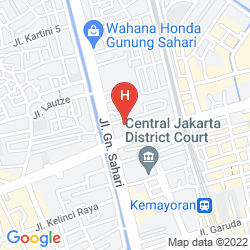 Mappa GOLDEN BOUTIQUE HOTEL