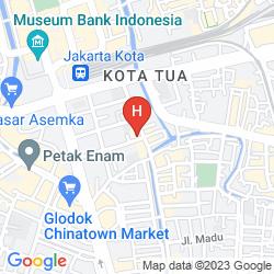 Mappa THE PLAZA HOTEL GLODOK