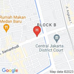 Mappa RED PLANET JAKARTA PASAR BARU