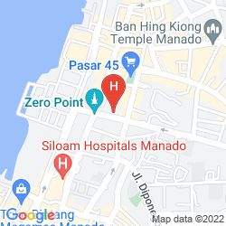 Mappa ASTON MANADO