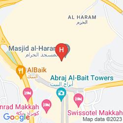 Mappa FAIRMONT MAKKAH CLOCK ROYAL TOWER