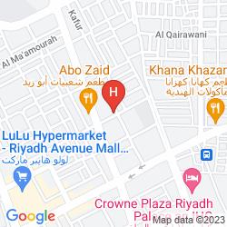 Mappa AL MUSAFER RIYADH