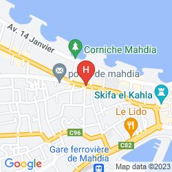 Mappa LE PHENIX DE MAHDIA