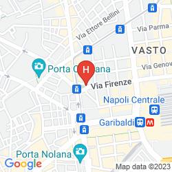 Mappa BEST WESTERN PLAZA