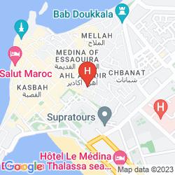 Mappa RIAD LALLA MOGADOR