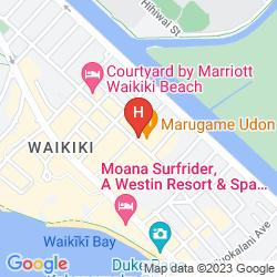 Mappa KUHIO BANYAN CLUB