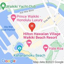 Mappa RAMADA PLAZA WAIKIKI