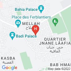 Mappa RIAD SHALOMA