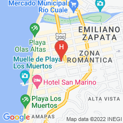 Mappa HOTEL POSADA DE ROGER