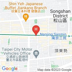 Mappa TAIPEI FULLERTON NANJING EAST ROAD