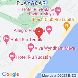 Mappa ROYAL HIDEAWAY PLAYACAR