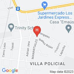 Mappa BOURBON CONMEBOL CONVENTION HOTEL