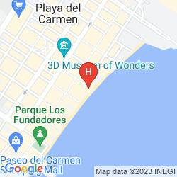 Mappa ALHAMBRA BEACH HOTEL