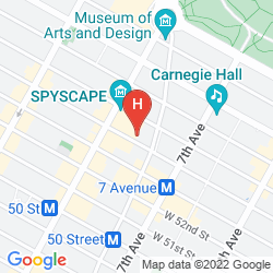 Mappa HILTON GARDEN INN NEW YORK/CENTRAL PARK SOUTH-MIDTOWN WEST