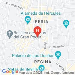 Mappa CITY & LIFE SEVILLA QUINTANA