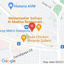 Mappa ABEL HOTEL