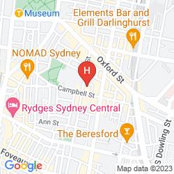 Mappa ABEY HOTEL
