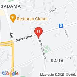 Mappa CENTER HOTEL