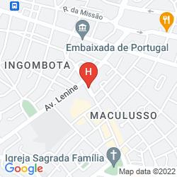 Mappa LOANDA HOTEL