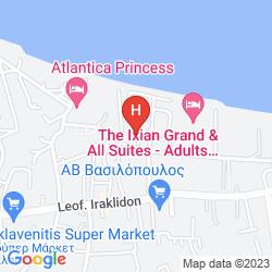 Mappa ARGO SEA HOTEL