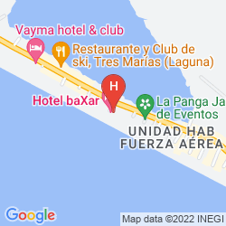 Mappa BAXAR HOTEL ACAPULCO
