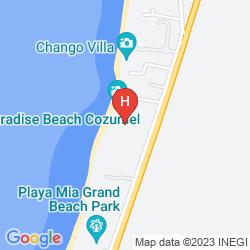 Mappa OCCIDENTAL ALLEGRO COZUMEL