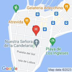 Mappa ATLANTICO BOUTIQUE HOTEL PUNTA DEL ESTE