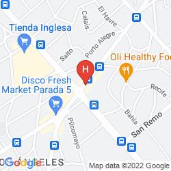 Mappa SISAI HOTEL BOUTIQUE