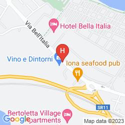 Mappa ZIBA HOTEL AND SPA